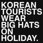 Korean Tourists by calzo