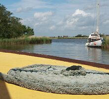 Horsey Staithe, Norfolk, UK by Marie Watt