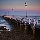 Shornecliffe Pier, Glory Days passed by, Qld Australia by PhotoJoJo