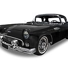 Ford - 1956 Thunderbird Roadster by axemangraphics