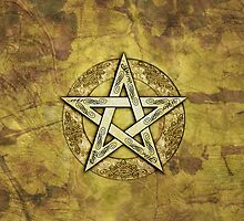 Ornate Pentacle, Pentagram by chromedreaming