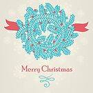 Christmas greeting card by veverka