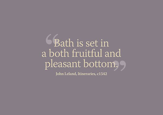Bath is set in a both fruitful and pleasant bottom by beautifulbath