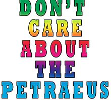I don't care about the Petraeus Affair by Darren Stein