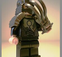 TMNT Teenage Mutant Ninja Turtles Master Shredder Custom LEGO® Minifigure by 'Customize My Minifig' by Chillee