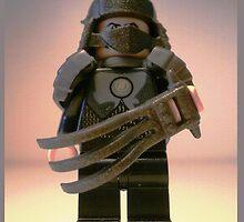 TMNT Teenage Mutant Ninja Turtles Master Shredder Custom LEGO® Minifigure by 'Customize My Minifig' by Chillee
