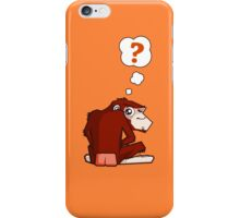 Monkey WTF??? iPhone Case/Skin
