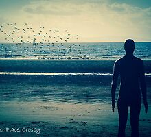 Another Place, Crosby Beach, Liverpool by Beverley Goodwin