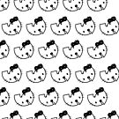 Wu-Tang X Hello Kitty - Black and White by paperboyjim