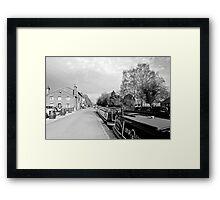 Boats at Fradley Junction  Framed Print