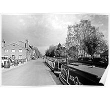 Boats at Fradley Junction  Poster