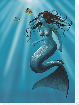 Mermaid by Debbie Jew