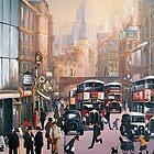 Fleet Street by Raymond Gilronan