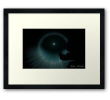 INTO THE LIGHT.............................YOU GO FIRST Framed Print