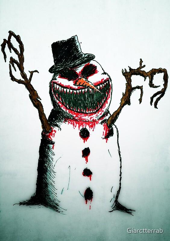 Frosty The Evil Snowman Evil snowman by