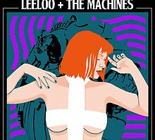 Leeloo and the Machines by AriesNamarie