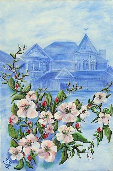 Apple Blossom by Mikki Alhart