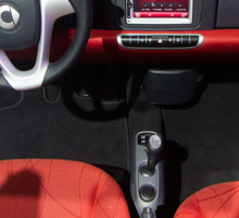 Smart ForTwo Turbo Cabrio Tritop Inside [ Print & iPad / iPod / iPhone Case ] Sticker