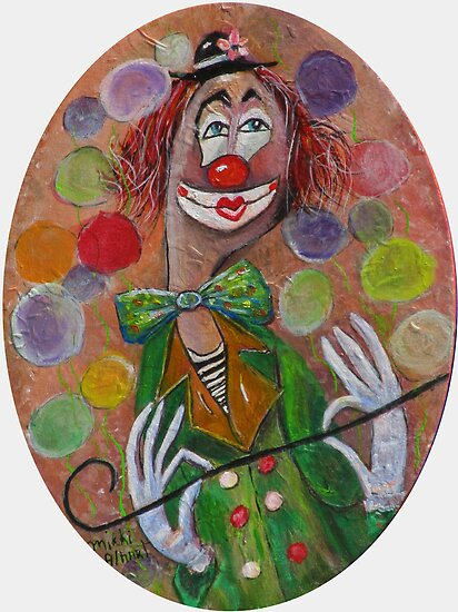 Clown by Mikki Alhart