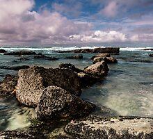 Stone path by Edgar Laureano