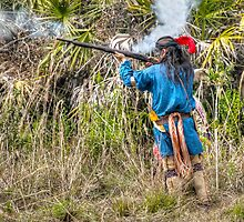 Seminole War Reenactment in South Florida by 242Digital