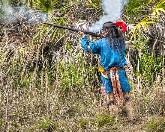 Seminole War Reenactment in South Florida by 242Digital