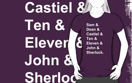 Superwholock Names. by Sophie Beresford