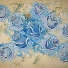 Blue Roses by Raymond Doward
