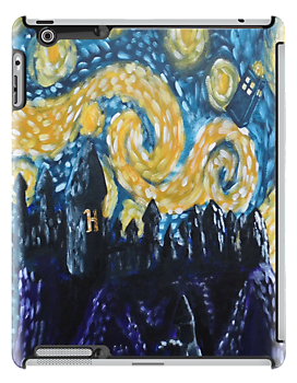 Dr Who Hogwarts Starry Night by jerasky