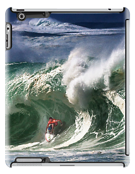 iPad Case. Andy Irons At 2009 Quiksilver in Memory of Eddie Aikau Contest by Alex Preiss