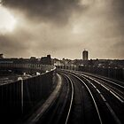 DLR Ride to Deptford by RunnyCustard
