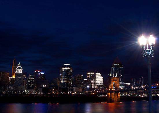 Cincinnati Skyline 3 by Phil Campus