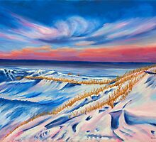 Seashore in Winter by Phillip Compton