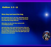 Visit of The Wise Men - Matthew 2:9-11 by Ann Warrenton