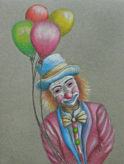 Birthday Clown by thuraya o