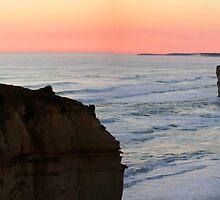 Twelve Apostles - Great Ocean Road VIC (panorama) by Emmy Silvius