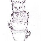 kitten. by PrettySquirrels