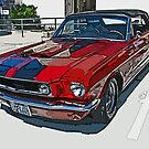 Classic Ford Mustang Convertible by Samuel Sheats