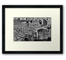 Unknown Soldiers Framed Print
