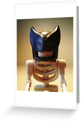 Egyptian God Anubis Skeleton Statue Custom LEGO® Minifigure, by 'Customize My Minifig' by Chillee