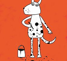 Dalmatian? by Nic Squirrell