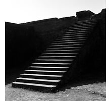 1995 - nalanda, the steps to the library Photographic Print