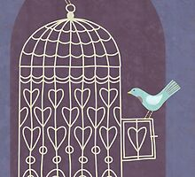 Leaving the Birdcage by Nic Squirrell