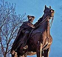 George Washington On His Horse, Morristown NJ by Jane Neill-Hancock