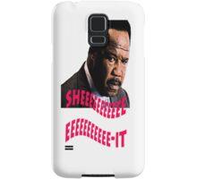 """Clay Davis """"sheeeeee-it"""" Samsung Galaxy Case/Skin"""