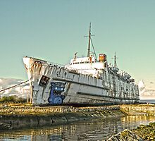 Duke of Lancaster in HDR4 by DavidWHughes