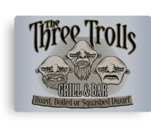 The Three Trolls Canvas Print