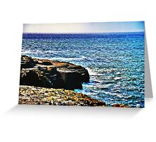 A Thousand Tides May Rise And Fall Greeting Card