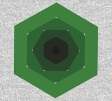 Five Hexagons by geometee