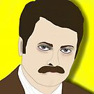 Ron F***kin&#x27; Swanson by hbnena
